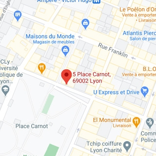 Consultation place Carnot
